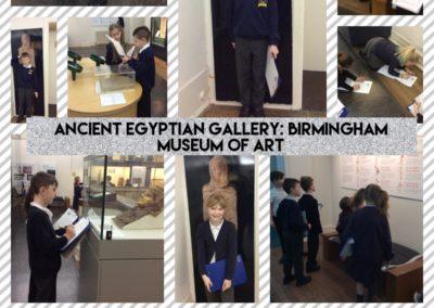Year 4 Spring 1 2019 Birmingham Museum Trip c